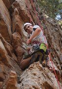 Rock Climbing Photo: Resting on a route