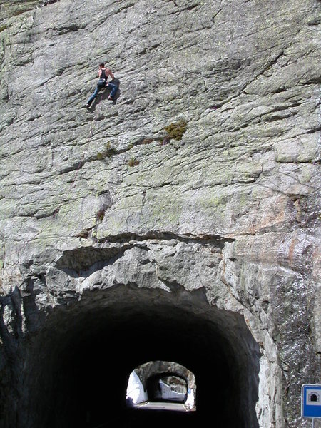 Rock Climbing Photo: Cragging in hell (seriously, that's the name of th...