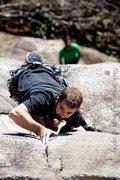 Rock Climbing Photo: Me, on Jabberwocky. Photo: nicksopczakphotography....