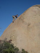 Rock Climbing Photo: nds leading missing link