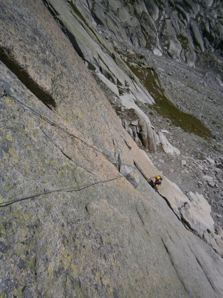 Rock Climbing Photo: The fun alternative intro pitch of Schindlewäg