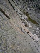 Rock Climbing Photo: The fun alternative intro pitch of Schindlewäg