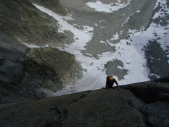 Rock Climbing Photo: Pitch seven of Conquest (6a)