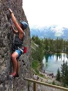 Rock Climbing Photo: Zach Henry cruisin up the Golf Course