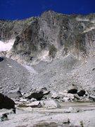 Rock Climbing Photo: The Graue Wand in high summer