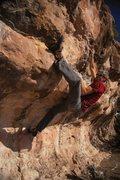 Rock Climbing Photo: JJ kicking 'em up on Blue Corn Sunday.  Wade Forre...