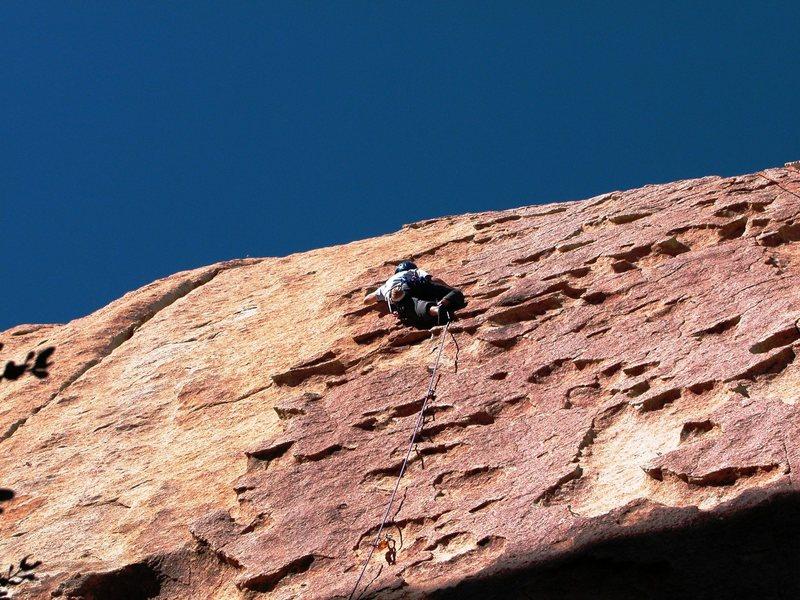 Rock Climbing Photo: Tricky move