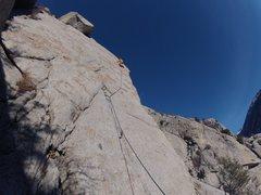 Rock Climbing Photo: December 25th 2011 send!