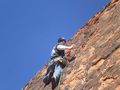 Rock Climbing Photo: mikey on the molar