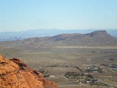 Rock Climbing Photo: atop cut your teeth crag