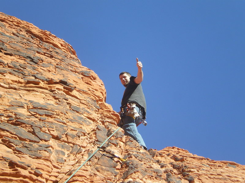 Rock Climbing Photo: timmy baby teeth