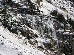 Rock Climbing Photo: The On Ramp Slab Area taken from the road, near th...