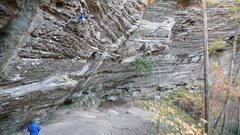 Rock Climbing Photo: Great endurance climbing! Lots of jugs and a coupl...