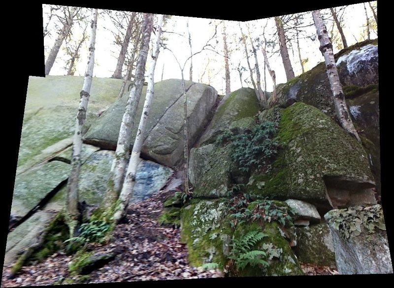 Rock Climbing Photo: Flying Monkey center, right of Tin Man.
