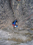 Rock Climbing Photo: Fantastic finale to the Vetterliwirtschaft route o...