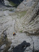 Rock Climbing Photo: Pitch one of Naebel und Chempae (5a)
