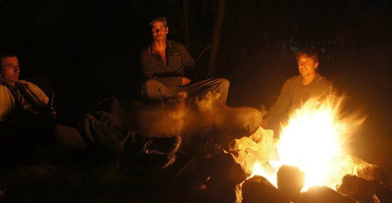 Seth Dyer, Myself, and Corey Ellison hanging out Volunteer Canyon, AZ<br> <br> Wade Forrest Photo