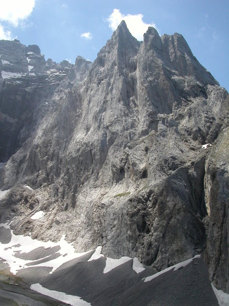 Rock Climbing Photo: Kingspitz north face