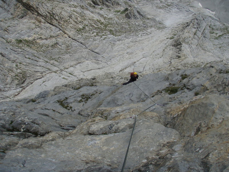 Near the top of Naebel und Chempae (6a)