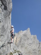 Rock Climbing Photo: Gagelfänger - extremely compact rock in the middl...