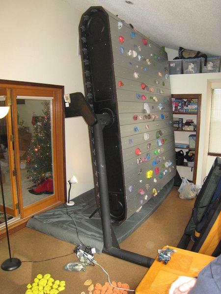 "Rock Climbing Photo: My ""Ascent Fun Rock"" rotating climbing w..."