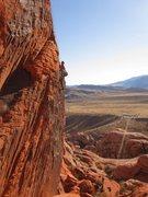 Rock Climbing Photo: Climbing Panty Line