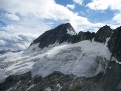 Rock Climbing Photo: The Galenstock in August, as seen from the top of ...