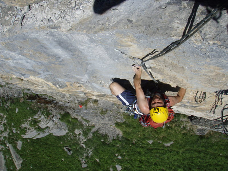 Pitch one of Flaschengeist (6c+)