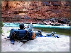 Rock Climbing Photo: The Colorado, the boys, and I....  Wade Forrest ph...