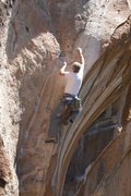 Rock Climbing Photo: Myself on Up In Smoke, the original beta, which ch...
