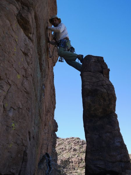 Rock Climbing Photo: A faulty tower that made the opening sequence of D...