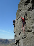 Rock Climbing Photo: Tom and Will Ripley on The Buttonhook Route .Kern ...