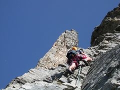 Rock Climbing Photo: Climbing in the Läged Wingällen area. This is ty...