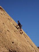 Rock Climbing Photo: Enjoying warm sunny rock on The Chicken/Hyperion S...