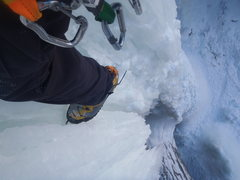 Rock Climbing Photo: This is why Ice climbing is radtastic bro