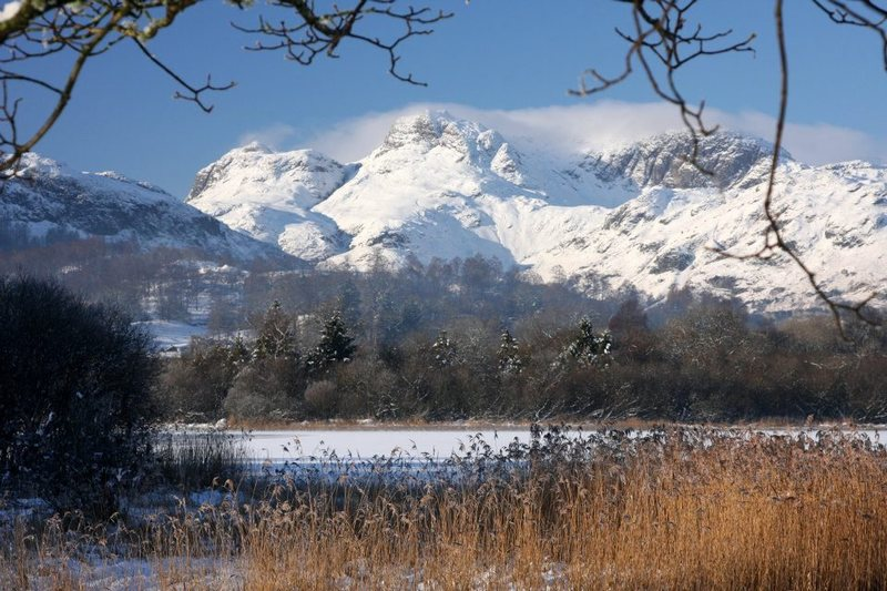 Langdale Pikes winter 2011. Photo Jackie Gill