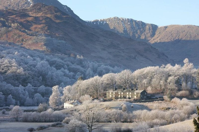 Fitz Cottages, Little Langdale, Winter 2011. Photo Jackie Gill