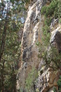 Rock Climbing Photo: Fred Flinstone, 5.9