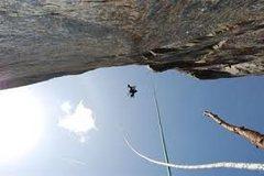 Rock Climbing Photo: pitch 1 and 2