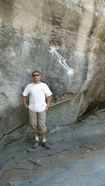 Rock Climbing Photo: midnight lightning