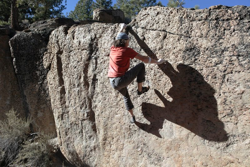 Rock Climbing Photo: Isn't bouldering Exciting...