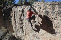Rock Climbing Photo: Isn't bouldering Exciting...