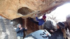 Rock Climbing Photo: Ashley sending