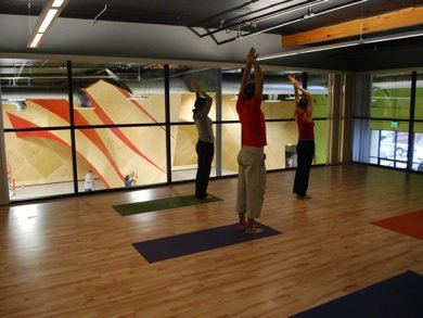 yoga+pilates room