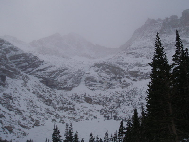 Rock Climbing Photo: West Gully Beta 12/21/2011