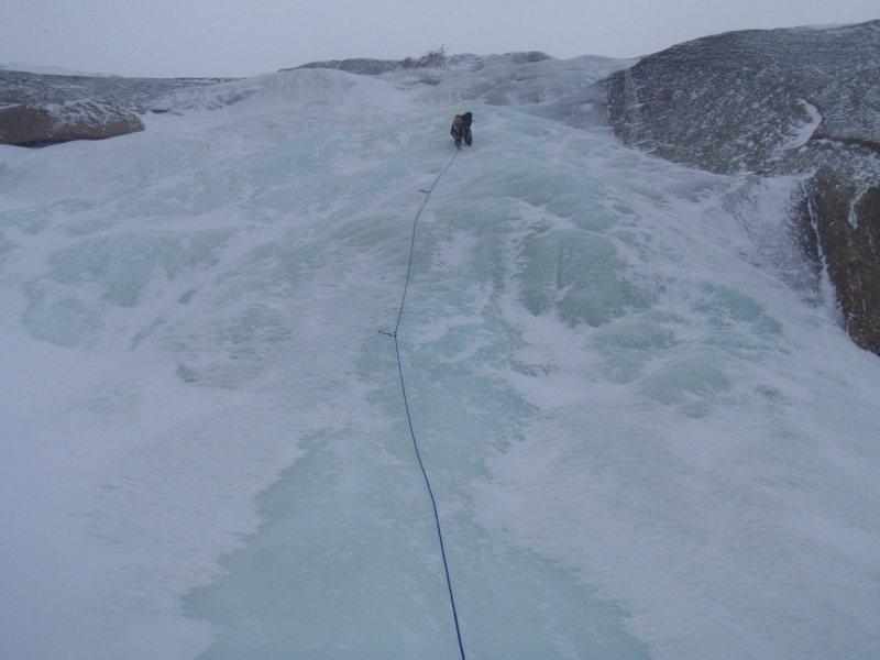 Rock Climbing Photo: Black Lake Slabs 12/21/2011