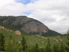 Rock Climbing Photo: Point 10,243'.  Note the samples of fine grained g...