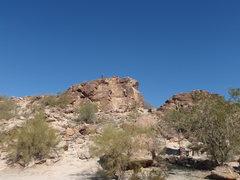 Rock Climbing Photo: Teddy Bear wall as seen from the picnic area