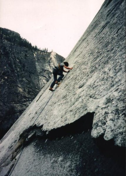 Rock Climbing Photo: Glen - Mouth to Perhaps, 1976