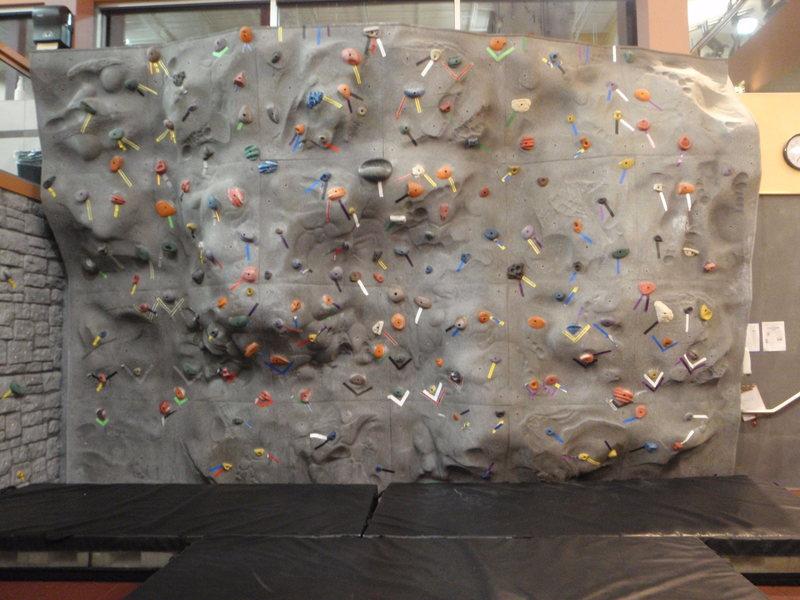Rock Climbing Photo: Bouldering Wall!